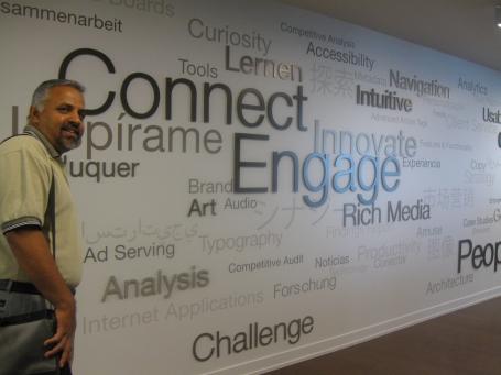 Atlanta Office Word wall