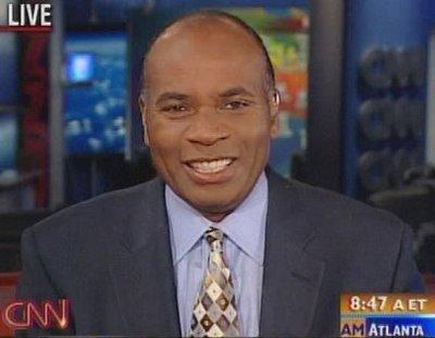 CNN anchor Tony Harris