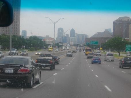 Entering Austin