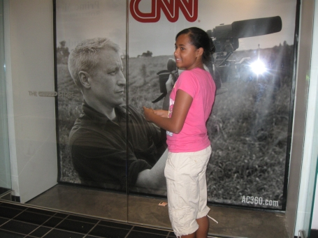 Jasmine and Anderson Cooper