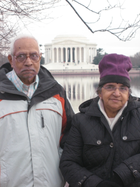 Patti and Thatha in DC