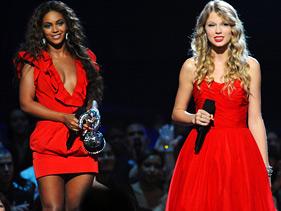 Beyonce and Taylor