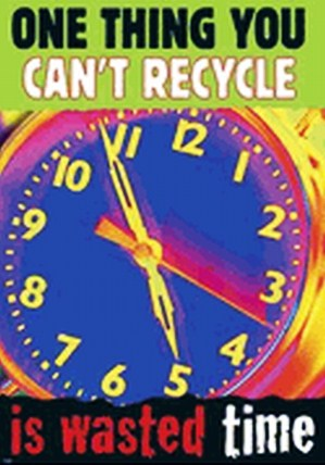 Time Recycle Poster